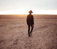 solo entrepreneur walking