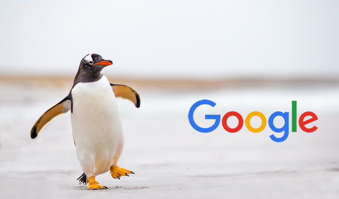 Google Penguin LeDigitalizeur