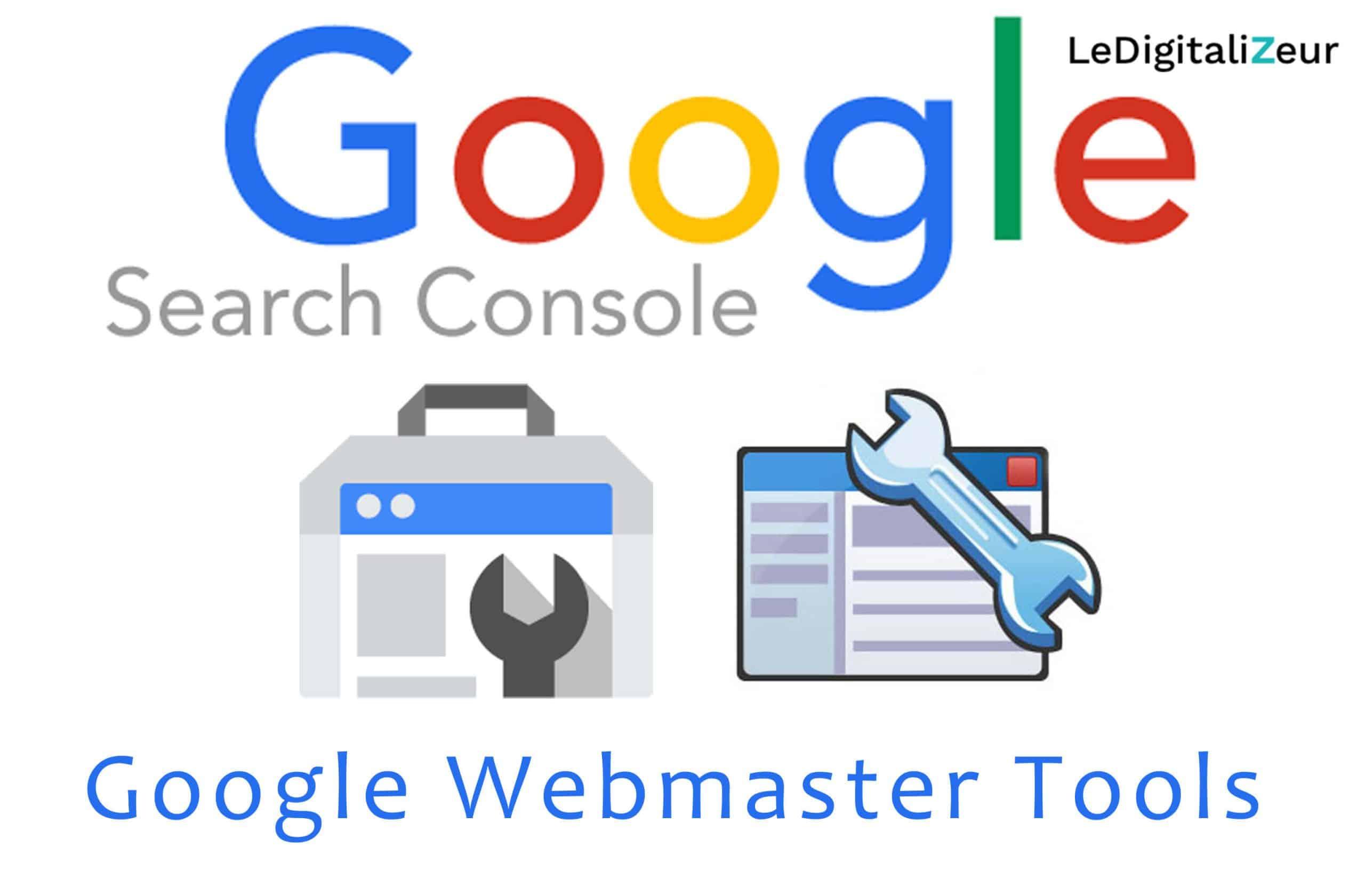 logo Google search console ledigitalizeur