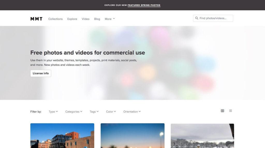 mmt homepage