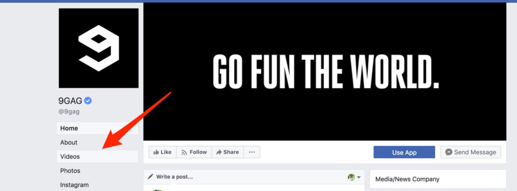 telecharger videos facebook