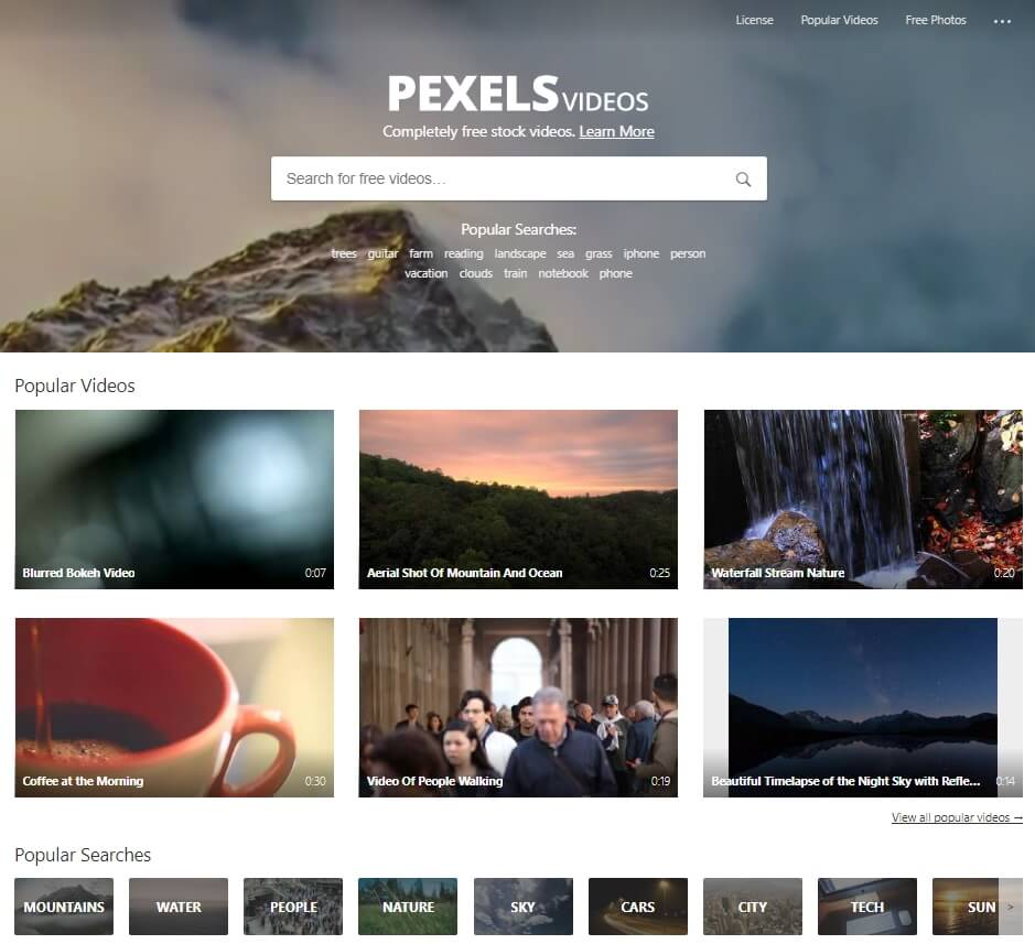 videos-gratuites-pexels