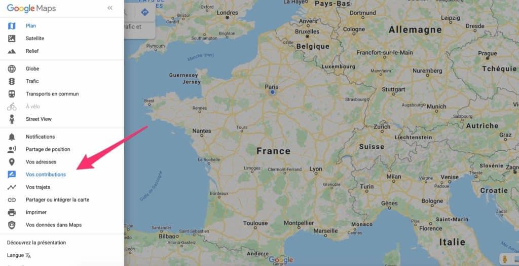 Avis google maps