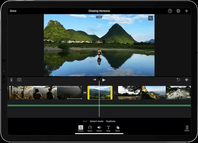 iMovie - Logiciel de montage vidéo gratuit sous Mac