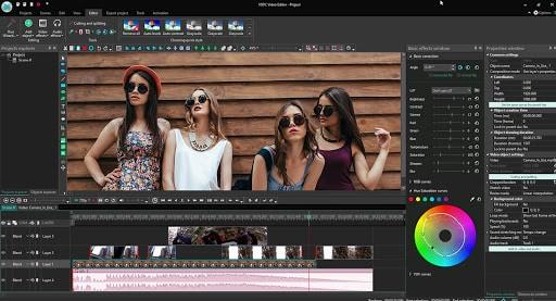 VSDC - logiciel de montage vidéo Windows