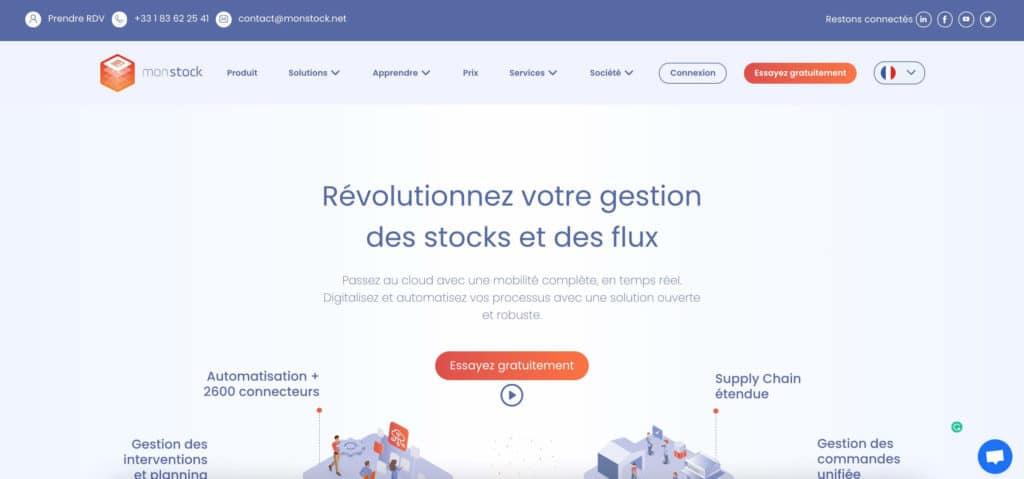 gestion de stock monstock